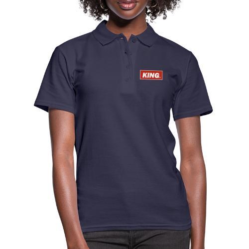 King, Queen, - Women's Polo Shirt