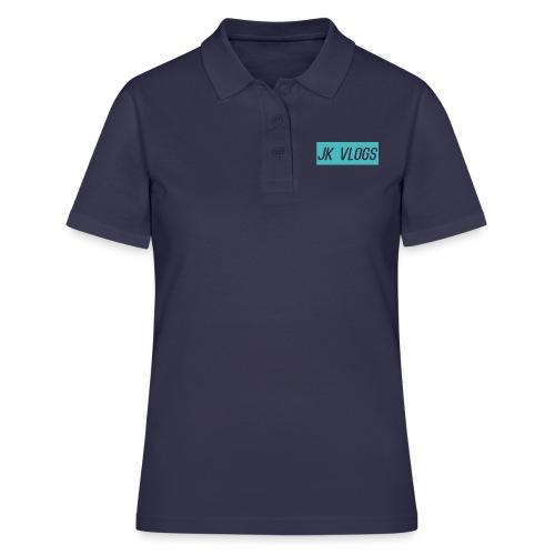 JK Vlogs Logo 2 - Women's Polo Shirt