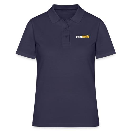 logo df farbe - Frauen Polo Shirt