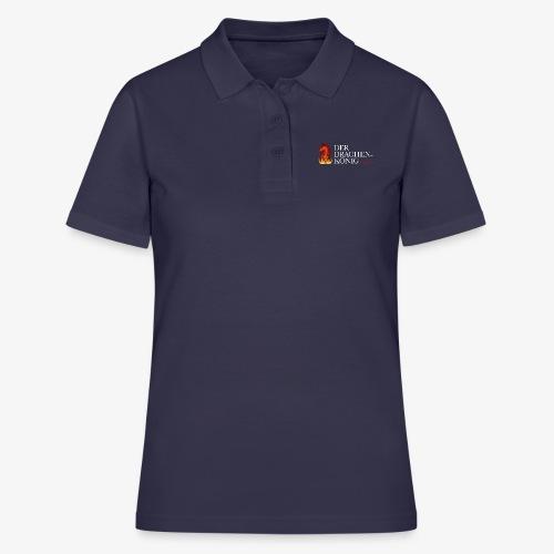 Drachenkönig Logo Schrift - Frauen Polo Shirt