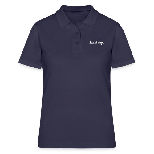 kuschelig. Frauen-Pullover - Frauen Polo Shirt