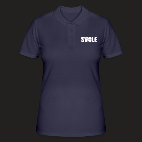 SWOLE FLAT CAP - Women's Polo Shirt