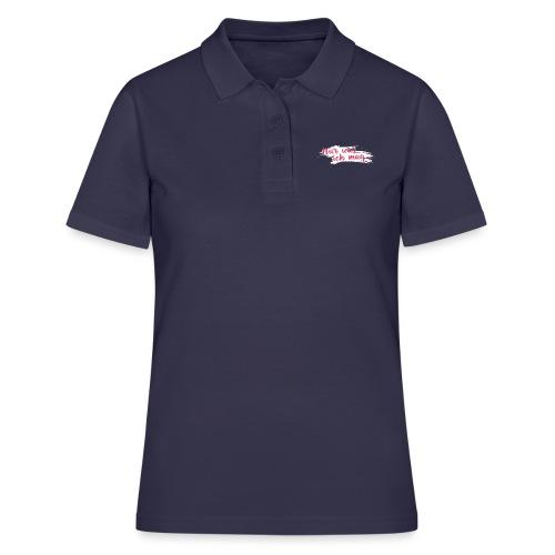 Nur was ich mag - Frauen Polo Shirt