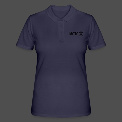 moto-X - Women's Polo Shirt