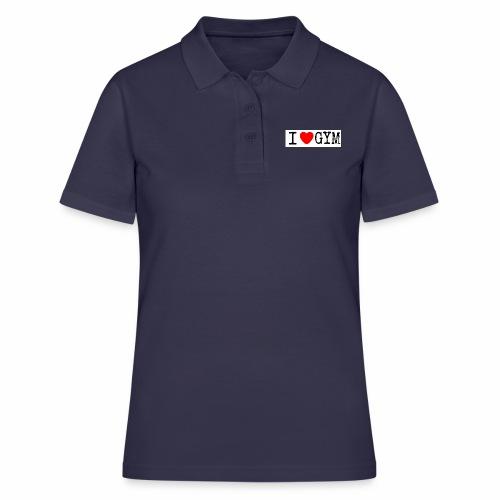 LOVE GYM - Women's Polo Shirt