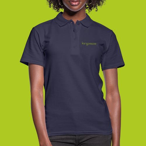 Green Kangoeroe design - Women's Polo Shirt