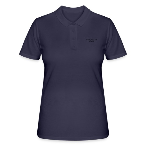 World Champions Twice - Women's Polo Shirt