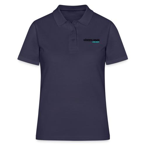 HKS LOGO teksti valkoinen2 - Women's Polo Shirt