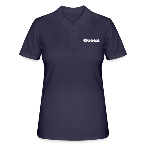 Snapback queen zwart/blauw - Women's Polo Shirt