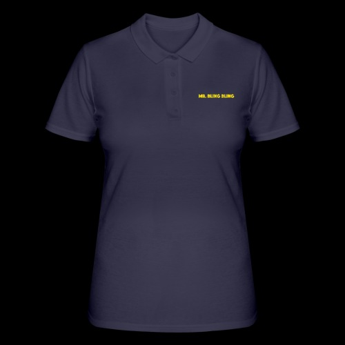 bling bling - Frauen Polo Shirt