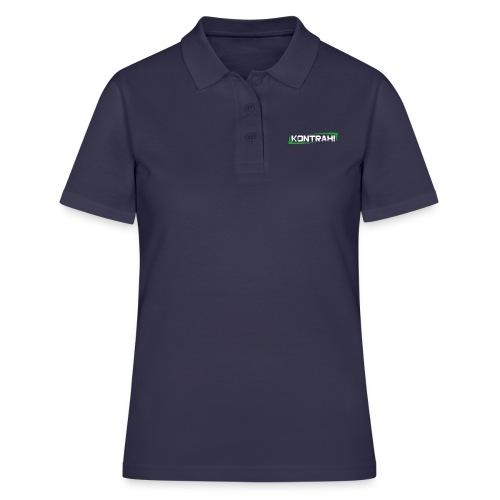 Kontrah Schriftzug groß - Frauen Polo Shirt