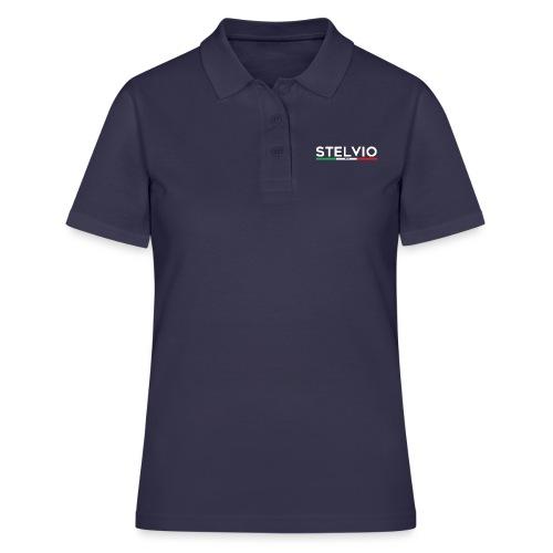 Stelvio mit Flagge - Frauen Polo Shirt