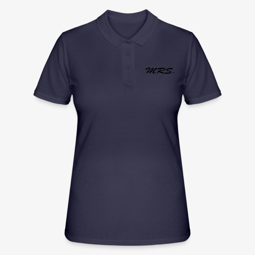 Mrs. - Frauen Polo Shirt