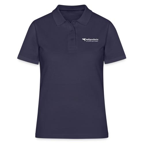 Balipockets Logo Weiß - Frauen Polo Shirt
