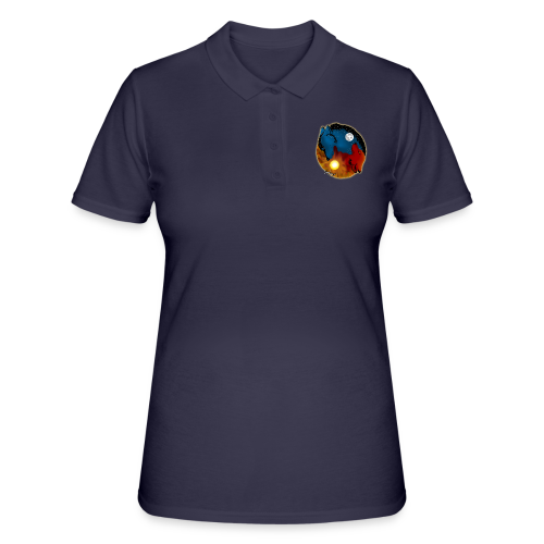 Day and Night / Sun and Moon - Frauen Polo Shirt