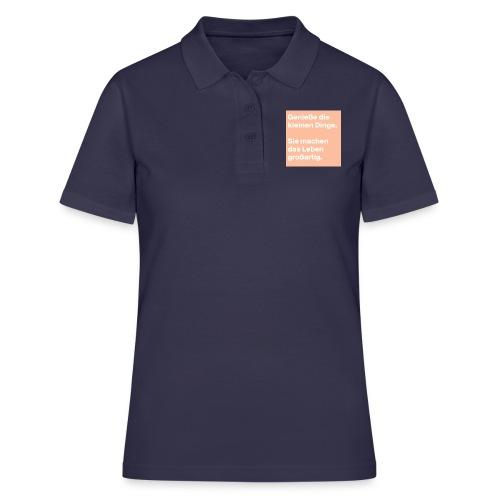 Sprüchekleidung - Frauen Polo Shirt