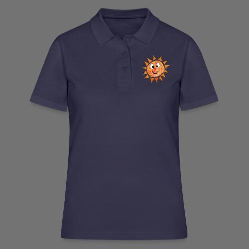 Słońce - Koszulka polo damska