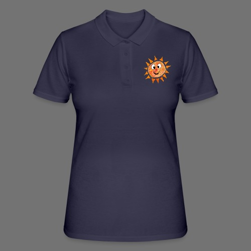 Sonne - Frauen Polo Shirt