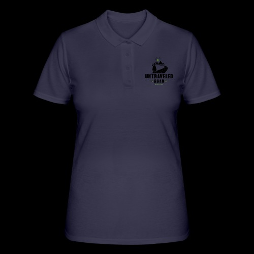 Untraveled Road Logo - black/small - Frauen Polo Shirt