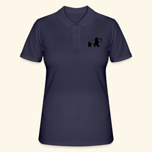 Panda - Frauen Polo Shirt
