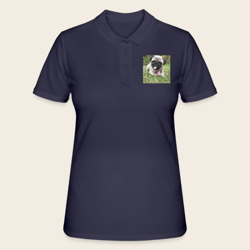 Mops Wiese - Frauen Polo Shirt