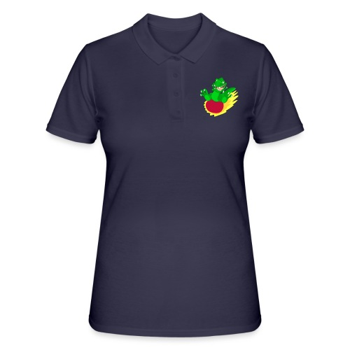 T-rex meteorite - Women's Polo Shirt