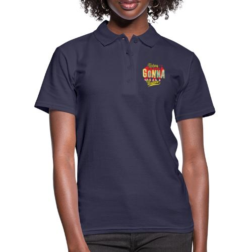 Stay positive - Frauen Polo Shirt