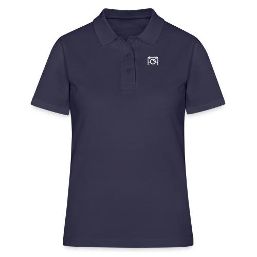 White AYWMC Camera logo - Women's Polo Shirt