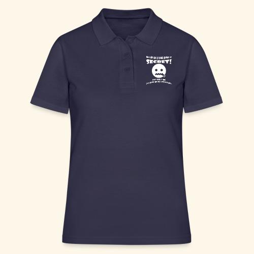 garder un secret - Women's Polo Shirt