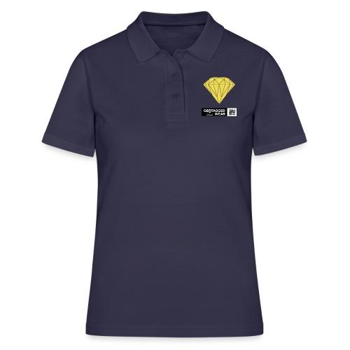 Unisex Diamond Pantone Meadowlark - Frauen Polo Shirt