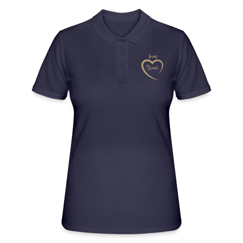 Team Braut - Frauen Polo Shirt