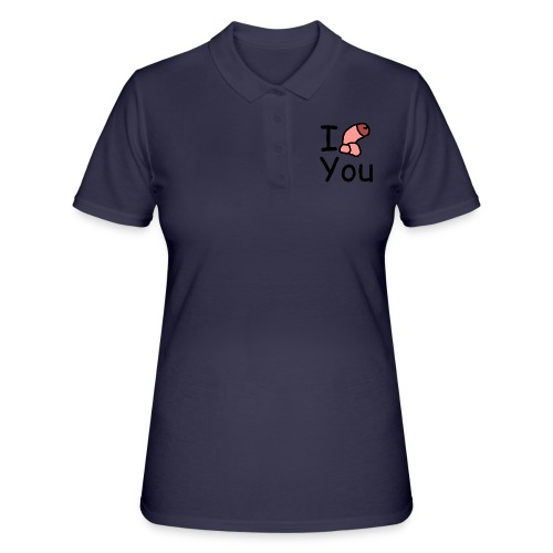 I dong you pillow - Women's Polo Shirt