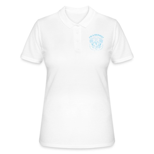 Im a budhist - Women's Polo Shirt