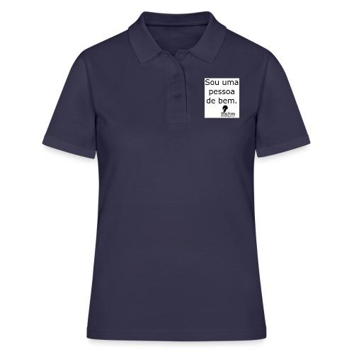 Crachá Sou uma pessoa de bem - Women's Polo Shirt