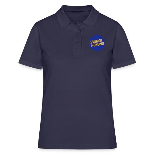 Svensk honung Hexagon Blå/Gul - Women's Polo Shirt