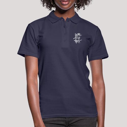 LDT Clear MASTER WHITE - Women's Polo Shirt