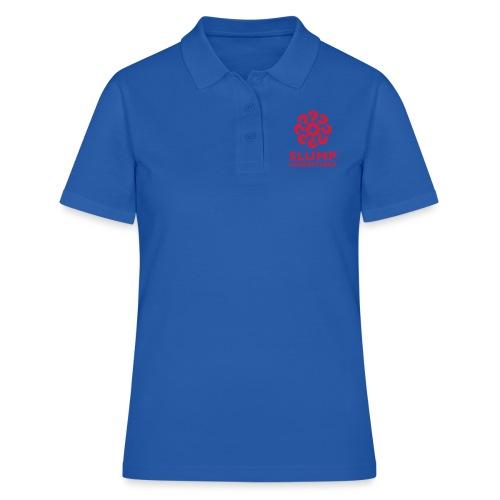 Slumpgeneraterna, logo röd - Pikétröja dam