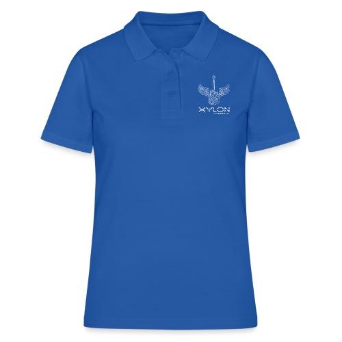 Xylon Guitars Premium T-shirt (white design) - Women's Polo Shirt