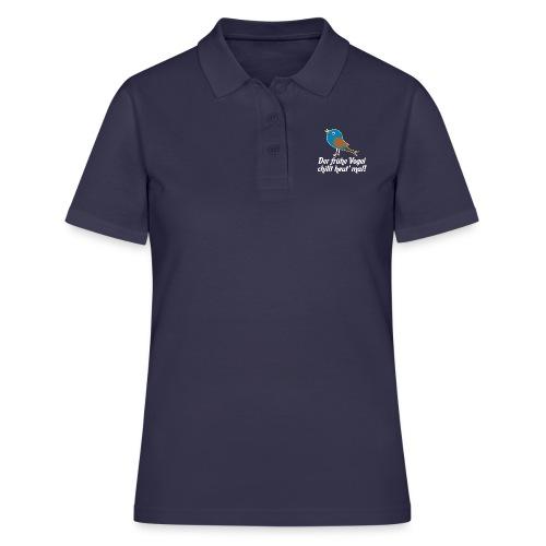 Der frühe Vogel chillt heut' mal! - Frauen Polo Shirt