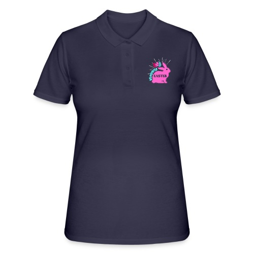 Happy Easter - Frohe Ostern - Frauen Polo Shirt