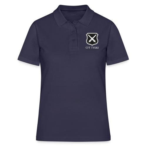 CFT Tykki valk teksti - Women's Polo Shirt