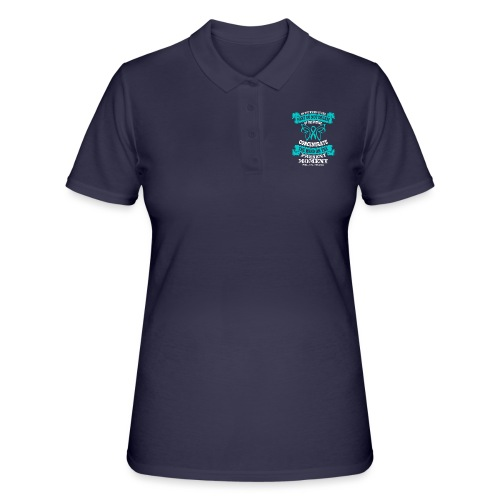 Do Not Dwell in the Past Scleroderma Awareness - Women's Polo Shirt