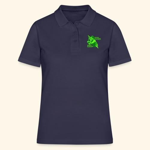 Tischtennis Mädchendesign Konzetration - Frauen Polo Shirt