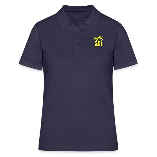 Sweet Ski Yellow - Frauen Polo Shirt