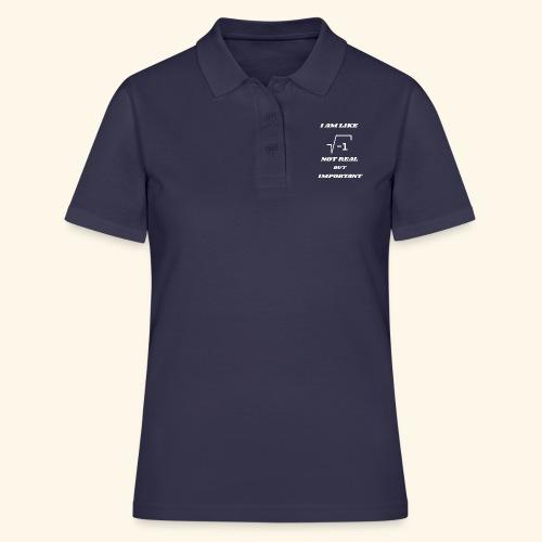 Wurzel (-1) nicht real - Frauen Polo Shirt