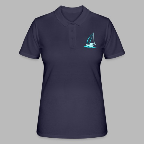 segelyacht - Frauen Polo Shirt