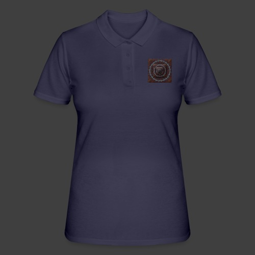 Time Tunnel Brown - Women's Polo Shirt