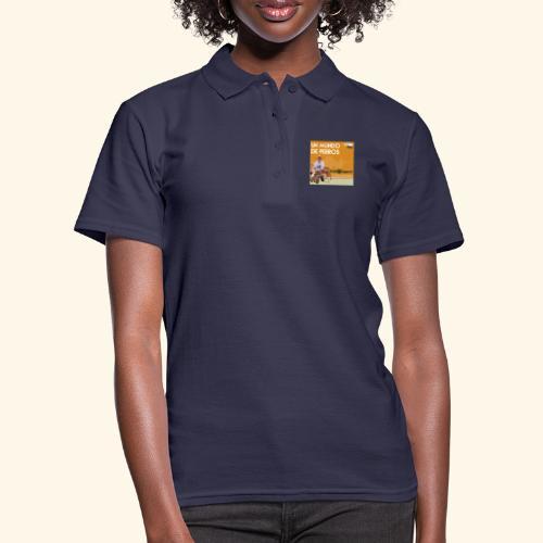 Un mundo de perros 1 03 - Camiseta polo mujer