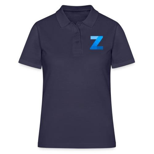 ZettaOS Blue Contrast - Women's Polo Shirt