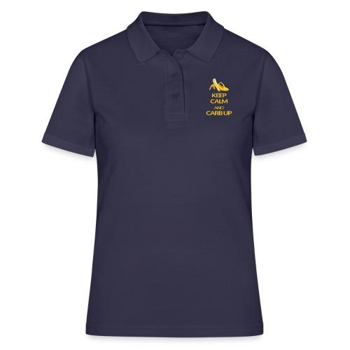 KEEP CALM and CARB UP - Frauen Polo Shirt